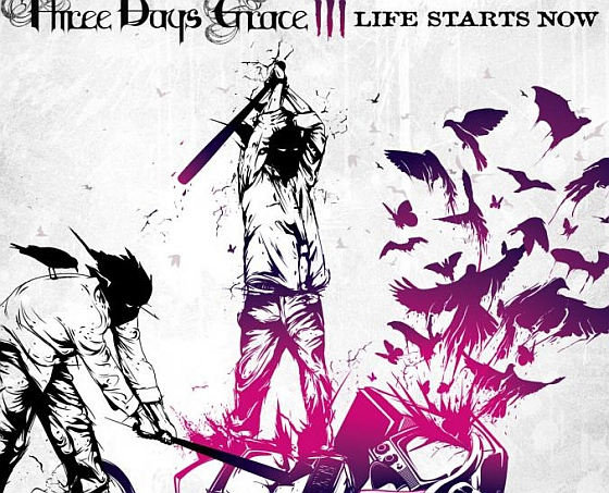 Three Days grace - Life Starts Now Cover