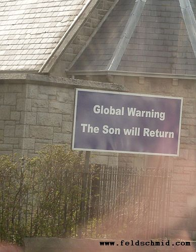 global warning, the son will return